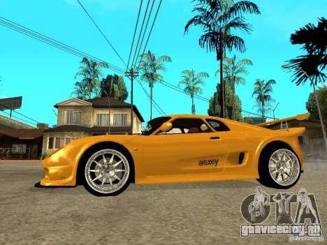 Noble M12 GTO Beta для GTA San Andreas вид слева