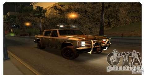 New Rancher для GTA San Andreas вид слева