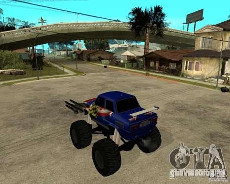 ЗАЗ МОНСТЕР для GTA San Andreas вид слева