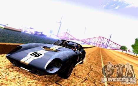 Shelby Cobra Daytona Coupe v 1.0 для GTA San Andreas