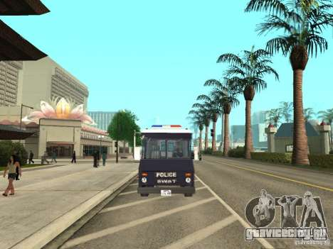 S.W.A.T. Лос-Анджелес для GTA San Andreas вид справа