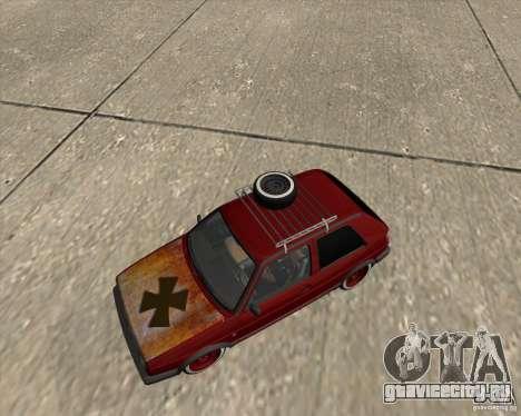 VW Golf II Shadow Crew для GTA San Andreas вид сбоку