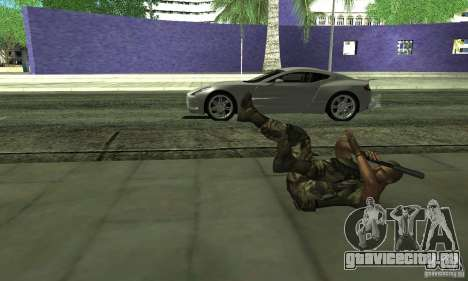 Sam Fisher Army SCDA для GTA San Andreas пятый скриншот