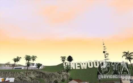 Timecyc Los Angeles для GTA San Andreas третий скриншот