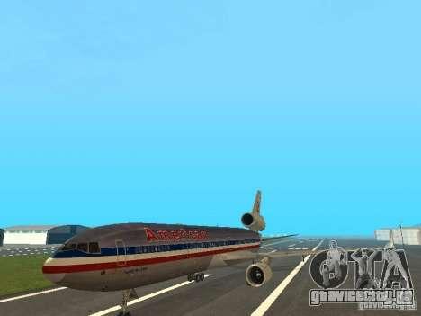 McDonell Douglas MD11 American Airlines для GTA San Andreas