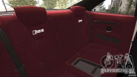 Audi RS5 2011 [EPM] для GTA 4 вид сбоку