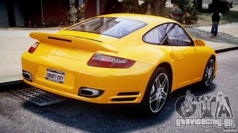 Porsche 911 Turbo V3.5 для GTA 4 вид изнутри