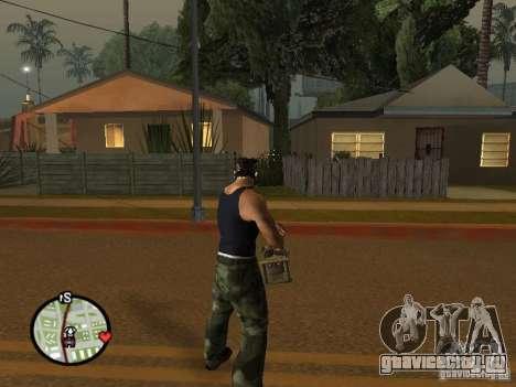Миниган М134 из CoD:Mw2 для GTA San Andreas шестой скриншот