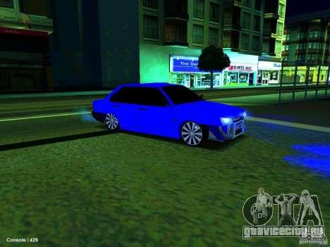 ВАЗ 21099 Турбо для GTA San Andreas вид слева