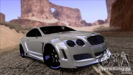 Bentley Continental GT Premier 2008 V2.0 для GTA San Andreas