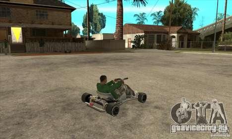Stage 6 Kart Beta v1.0 для GTA San Andreas вид справа