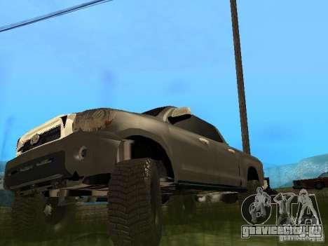 Toyota Tacoma 2011 для GTA San Andreas вид слева