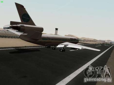McDonell Douglas DC-10-30 PanAmerican Airways для GTA San Andreas