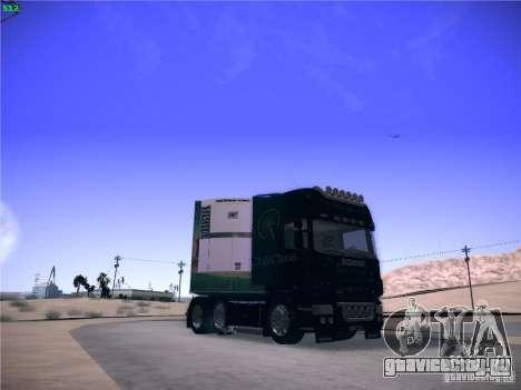 Scania R620 Dubai Trans для GTA San Andreas вид справа