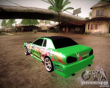 Elegy Toy Sport v2.0 Shikov Version для GTA San Andreas вид слева