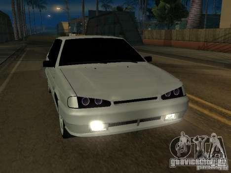 ВАЗ 2113TL для GTA San Andreas вид сзади