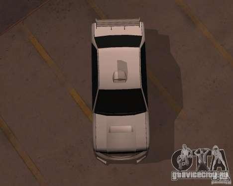 Taxi для GTA San Andreas вид справа
