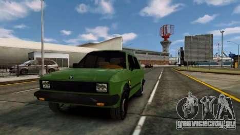Zastava Yugo Skala для GTA 4 вид слева