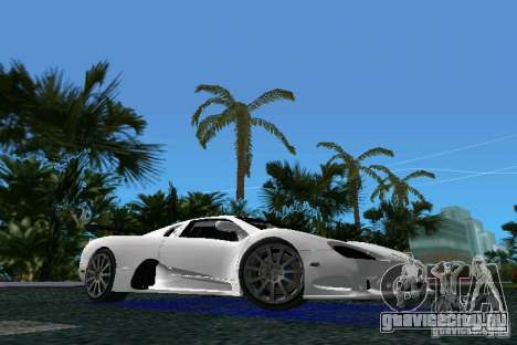 SSC Altimate Aero для GTA Vice City
