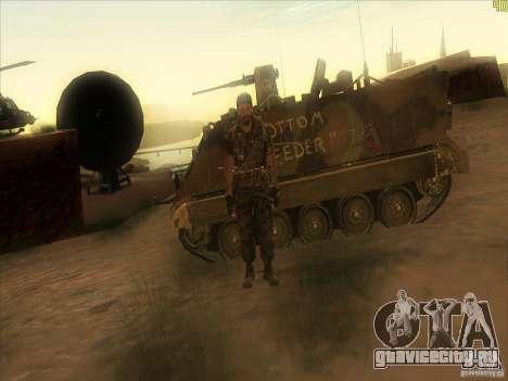 Frank Woods для GTA San Andreas седьмой скриншот
