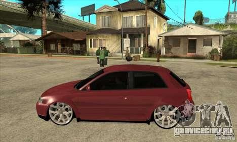 Audi A3 для GTA San Andreas вид слева