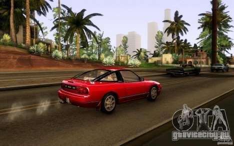 Nissan 180SX Kouki для GTA San Andreas вид сзади