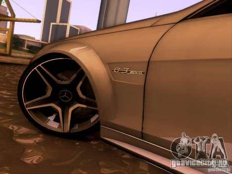 Mercedes-Benz C36 AMG для GTA San Andreas вид изнутри