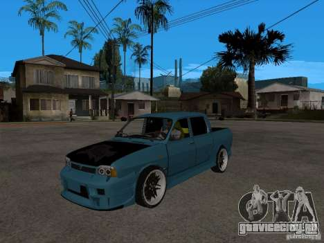 Dacia 1400 Pickup Battle Machine для GTA San Andreas