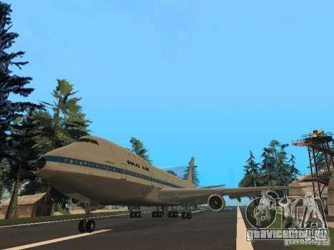 Boeing 747-100 Pan American Airways для GTA San Andreas