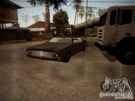Impaler 1987 San Andreas Stories для GTA San Andreas вид слева
