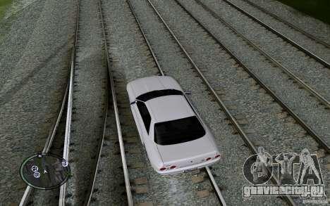 Русские Рельсы для GTA San Andreas десятый скриншот