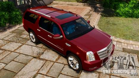 Cadillac Escalade ESV 2012 для GTA 4 вид сверху