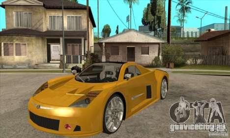 Chrysler ME Four-Twelve Concept для GTA San Andreas