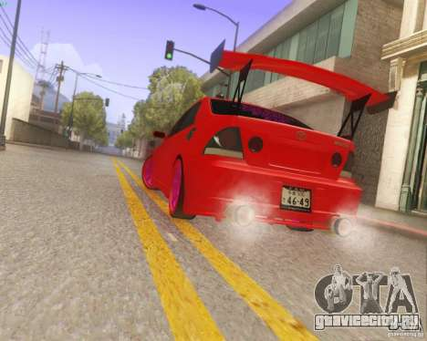 Toyota Altezza Drift Style v4.0 Final для GTA San Andreas вид сбоку
