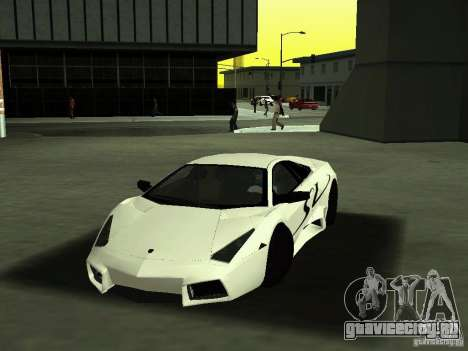Lamborghini Reventоn для GTA San Andreas вид сбоку
