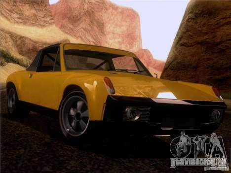 Porsche 914-6 для GTA San Andreas вид сбоку