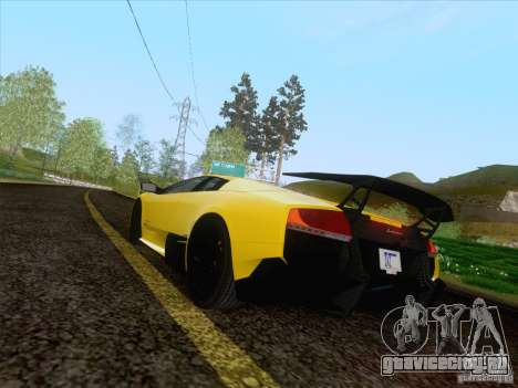 Lamborghini Murcielago LP670–4 SuperVeloce для GTA San Andreas вид слева