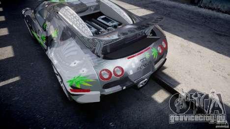Bugatti Veyron 16.4 v1.0 new skin для GTA 4 салон