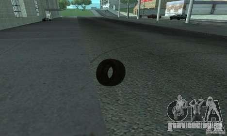 Покрышка для GTA San Andreas вид сзади слева
