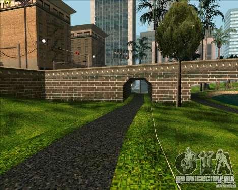 Новый парк в Лос Сантосе для GTA San Andreas второй скриншот