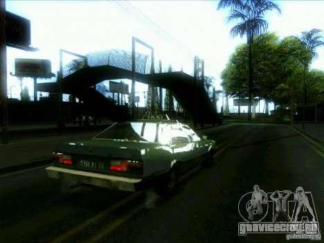 Такси из dri3r для GTA San Andreas вид справа