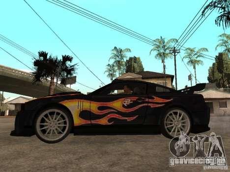 Ford Mustang GT Razor NFS MW для GTA San Andreas вид слева