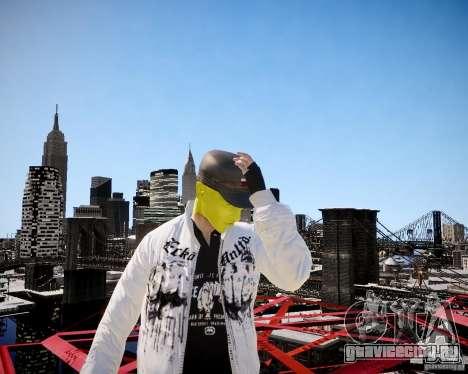 Niko The Mask для GTA 4 шестой скриншот
