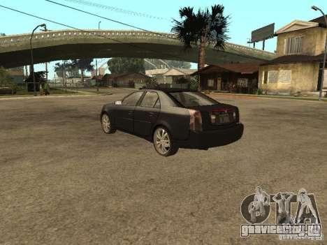Cadillac CTS для GTA San Andreas вид слева