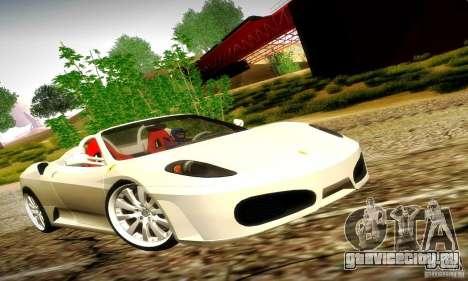 Ferrari F430 Spider для GTA San Andreas вид сбоку
