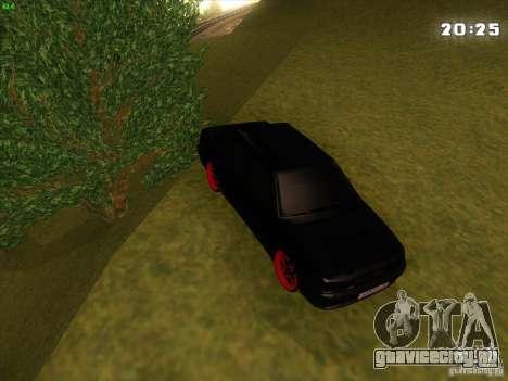 ВАЗ 2115 Devil Tuning для GTA San Andreas вид сбоку