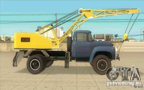 ЗиЛ-130 К-2,5-1Э для GTA San Andreas вид сзади слева