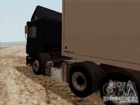 MAN F2000 6x4 для GTA San Andreas вид сзади