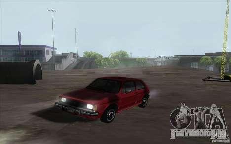 Volkswagen Rabbit 1986 для GTA San Andreas вид слева