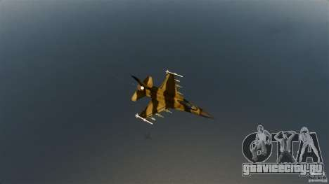 F-16C Fighting Falcon для GTA 4 вид сзади